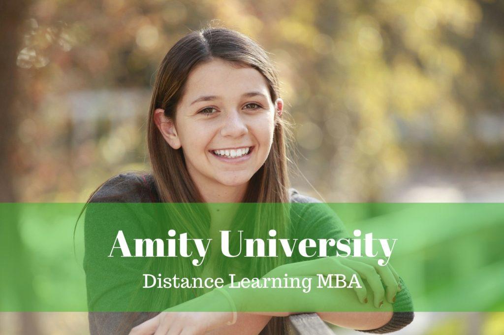 Amity University Distance Learning MBA
