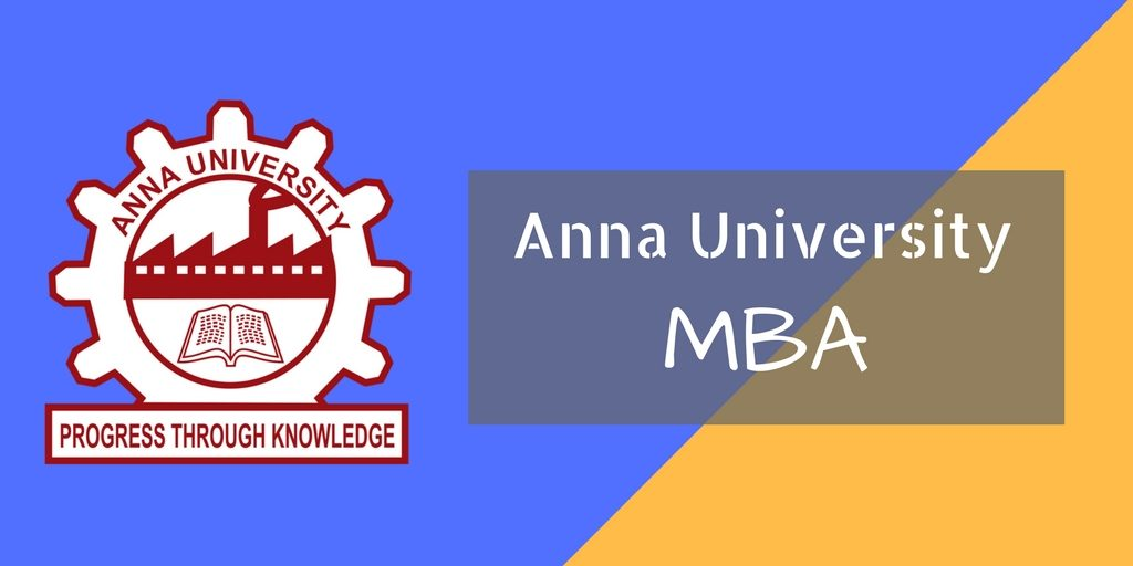 Anna University Distance Education MBA