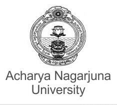 Acharya Nagarjuna University Distance Education