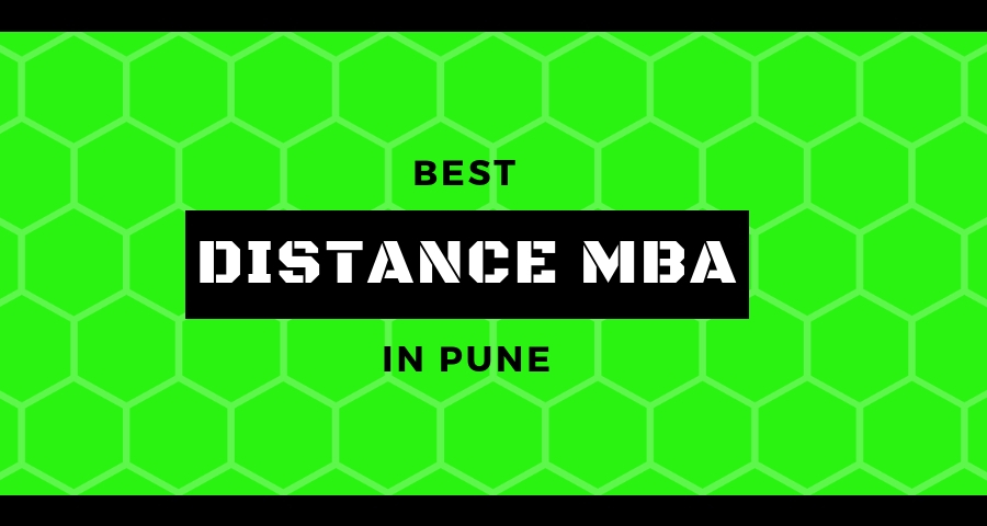 distance mba in pune