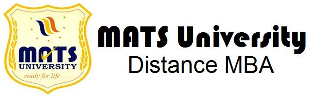 mats university distance education mba