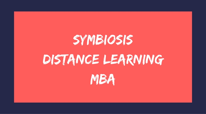 symbiosis distance learning mba
