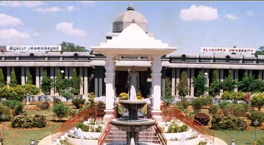 Alagappa University Distance Education MBA