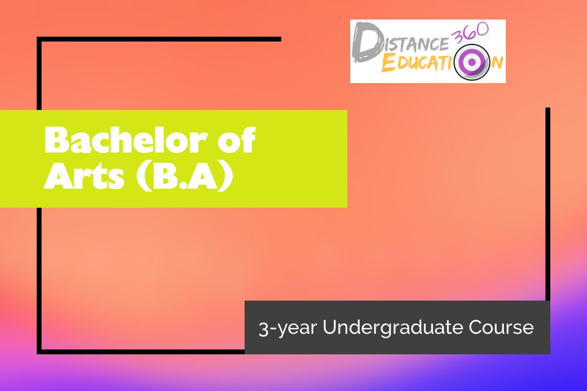 Bachelor of Arts Distance Education