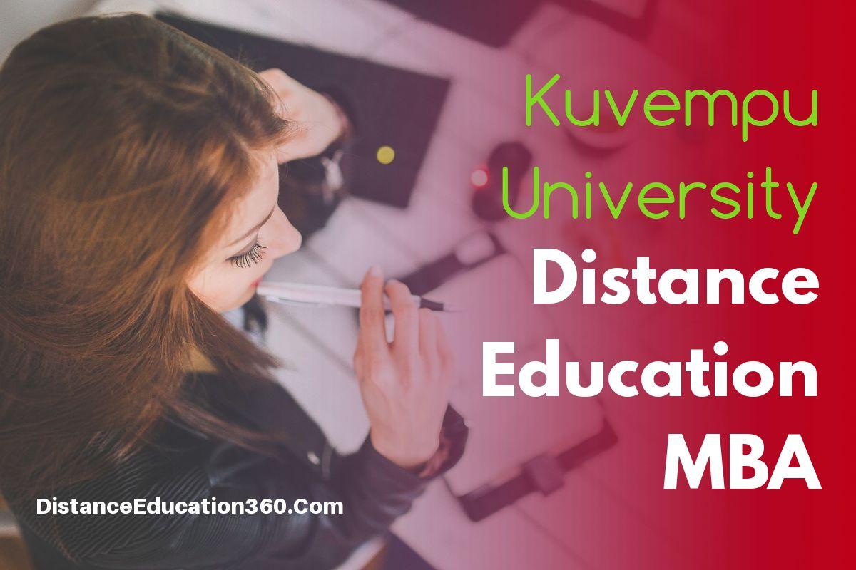 Kuvempu University Distance Education MBA