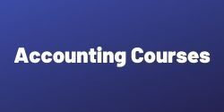 •	Short Term Courses in Accounting