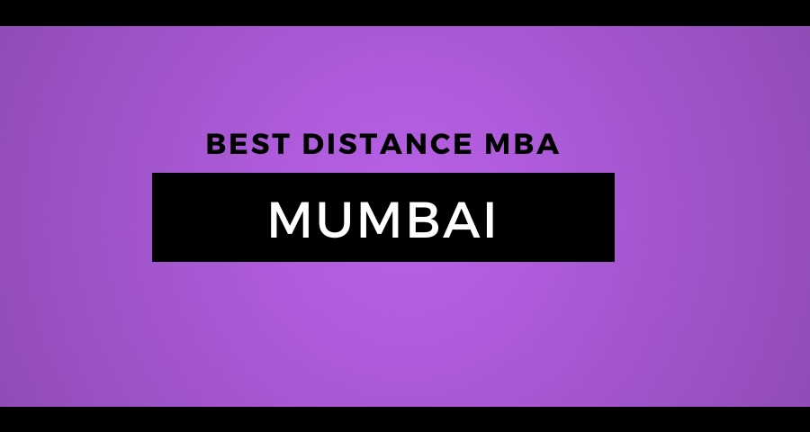Best Distance Education MBA Mumbai
